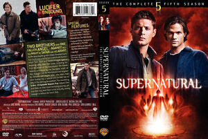 NEW Supernatural Season 5 (6 Disc 22 episode) FACTORY SEALED
