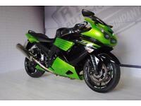 2011 - KAWASAKI ZZR1400 ABS, EXCELLENT CONDITION, £6,500 OR FLEXIBLE FINANCE TO