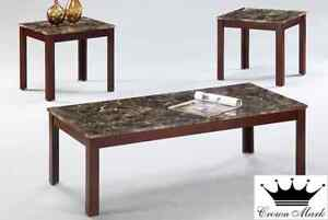 Brand NEW 3PC Coffee Table! Call 403-219-8886!
