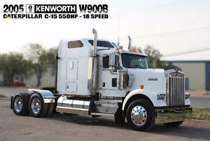2005 KENWORTH W900B ***550HP CAT - 18 SPEED***