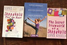 Sophie Kinsella Three titles
