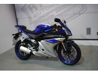 2017 - YAMAHA YZF R125 ABS, EXCELLENT CONDITION, £3,450 OR FLEXIBLE FINANCE