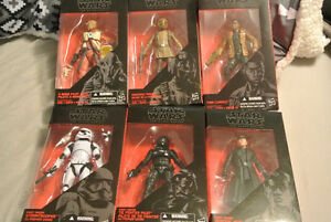 "star wars action figures  black series 6 "" Windsor Region Ontario image 1"