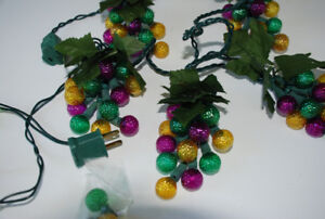 STRING LIGHTS - Autumn Grapes Or Flowers (plus free gift)