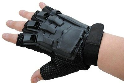 TRINITY Tactical Half Finger Gloves for Paintball - Large