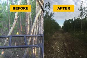 Mulching Services - Farm, Acreage, Tree Removal