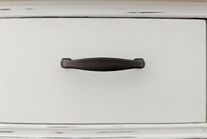 9 drawer pulls with oil rubbed bronze finish
