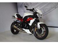 2012 - TRIUMPH STREET TRIPLE R, EXCELLENT CONDITION, £5,250 OR FLEXIBLE FINANCE