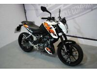 2017 - KTM 125 DUKE 17 125CC, IMMACULATE CONDITION, £3,500 OR FLEXIBLE FINANCE
