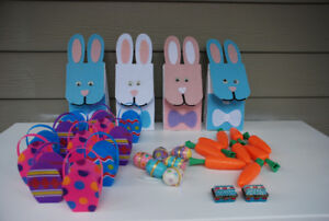 PARTY SUPPLIES - Spring//Easter/For Girls (treat holders, bags,