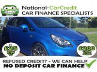 Vauxhall Corsa 1.6I 16V TURBO VXR 192PS Good / Bad Credit Car Finance (blue) 2012