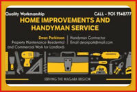 Home Improvements and Handyman Service