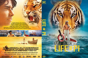 Life of Pi DVD-Great movie-Excellent condition