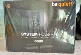be quiet! 600W power 9 PSU