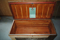"""Vintage """"RED SEAL"""" Cedar Chest/Hope Chest $160"""