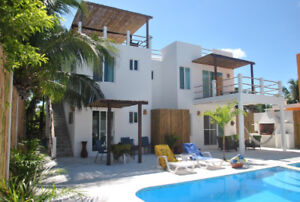 Beach Rental in The Yucatan! Gorgeous Ocean View with Pool!