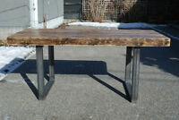 Hand Crafted Reclaimed Wood Dining Table