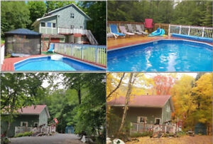 8 Acre wood cottage Muskoka Algonquin Huntsville Bracebridge