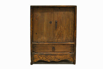 Купить Chinese Antique Small Wooden Side End Table Cabinet with Door & Drawer Jul26-05