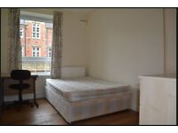 2 Bed available for short term rent in Peckham in exisiting flat share with 2 young professionals