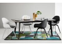 MADE Boone Resin Dining Table 6-8 Seater