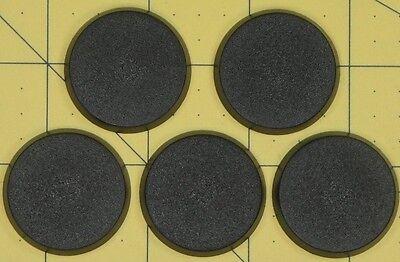 Warhammer 40K Round 32mm Bases (5)