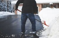 Snow shoveling near you