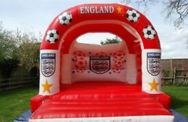 Adult Bouncy Castle - England themed - W:15ft x L:17ft
