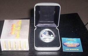 2007 Fighting Ships of WW2 - USS MISSOURI $1Silver Proof Coin. Wembley Cambridge Area Preview