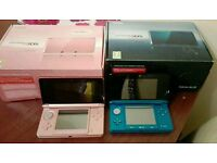 Nindendo 3ds consoles - £80 each or £150 for both. All offers considered.