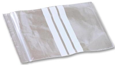 230x325mm Write On Clear Gripper Plastic Bags - Pack of 1000 -  GA132