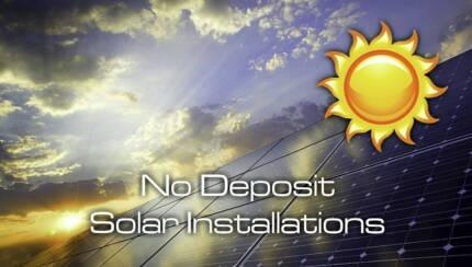 Solar and Battery Installations NO DEPOSIT Low Repayments - SAVE