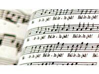 Improve Your Sight-Singing Workshop 1, on Zoom