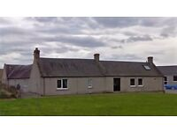 Unfurnished 2 bed cottage on the outskirts of Nairn