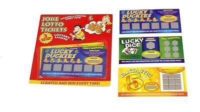 3 Fake Winning Scratch Cards (Scratch Ticket Spiele)