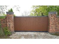 Electric Gate Security Gate Railing Fencing Aluminium Welding Metal Fabrication Construction Work