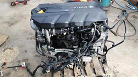 1.9 cdti complete engine with all auxiliaries