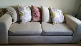 Comfortable 3 seater and 2 seat sofa OFFERS CONSIDERED