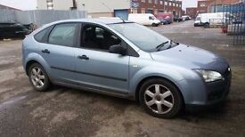 2005 FORD FOCUS ZETEC 1.6 petrol in TONIC BLUE - BREAKING FOR PARTS - PARTS FOR SALE can deliver