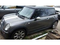BMW Mini Cooper S R51 R53 Breaking Spare Parts Bonnet Bumper leather alloys seats xenon