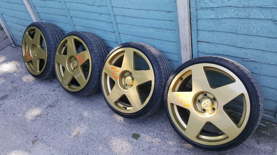 """Bola b10 19"""" alloy wheels focus st rs 