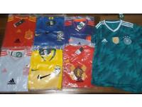 Fotball tops (adults and childrens world cup)