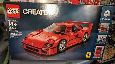Brand New Sealed LEGO Creator Ferrari F40 Construction Set (10248) RETIRED!