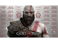 God Of War, perfect condition. Can deliver for free tonight (14/08)
