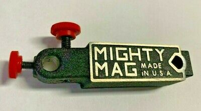 Mighty Mag 400-1 4-12 X 1 X 1-14 Magnetic Base For Dialelectric Indicators