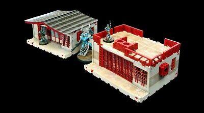 Micro Art Studio Infinity Kokkyo 3 Market HDF Laser-Cut Set H00063
