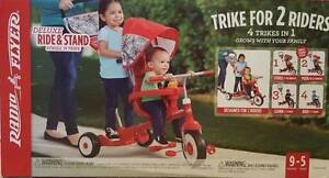 Radio Flyer 4 in 1 Deluxe Ride on & Stand Trike Tricycle Bike Toy Strathfield Strathfield Area Preview