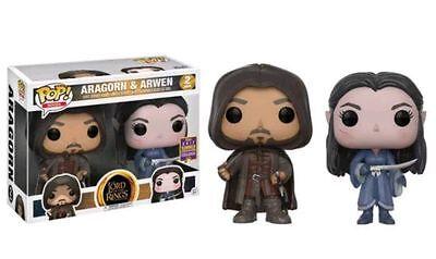 Funko POP! El Señor de los Anillos: Aragorn y Arwen Exclusivo