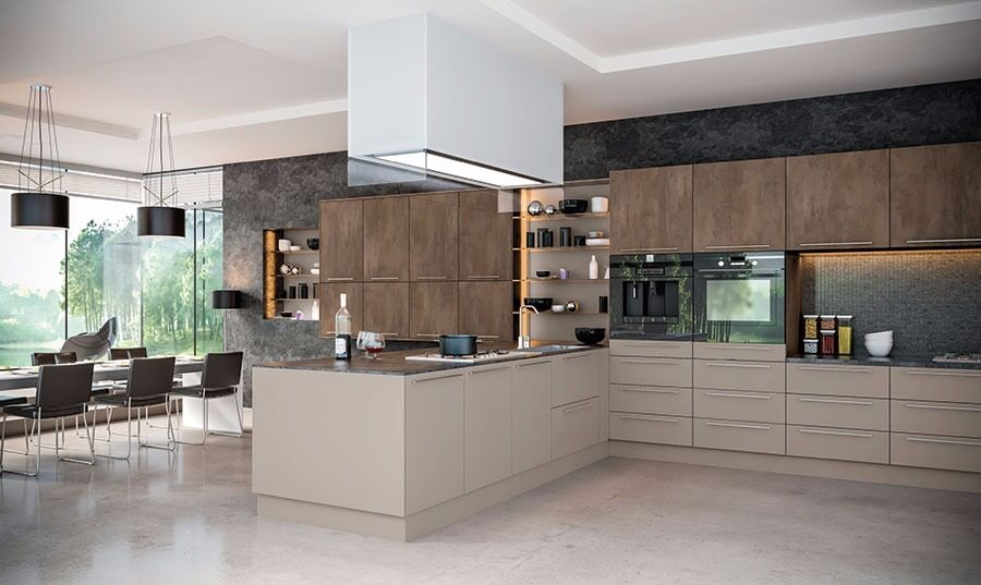 GREY BROWN METALLO STONE KITCHEN In Clapham London Gumtree