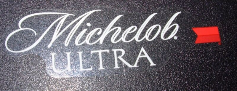 MICHELOB ULTRA Clear Logo STICKER decal craft beer brewery brewing
